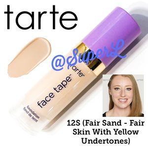 🧸 2/$15 Tarte Shape Tape Foundation 12S Fair Sand